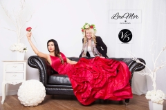 Lora & Louise - 2018 Photoshoot at LouMor Gowns